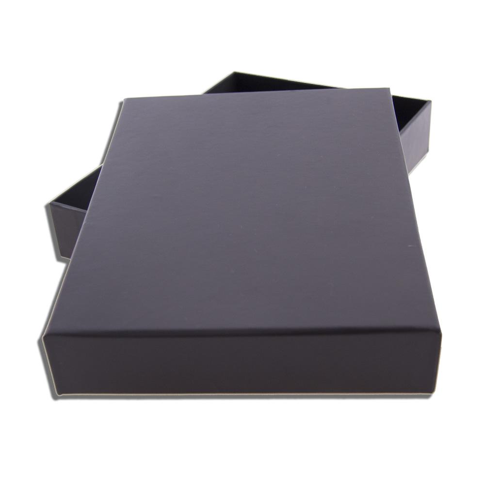 f16007088 Krabička s víkem černá 160 x 220 mm se saténem pro kapesní diář ...